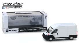 Ram  - ProMaster 2018 bright white - 1:43 - GreenLight - 86152 - gl86152 | Tom's Modelauto's