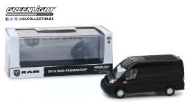 Ram  - ProMaster 2018 black - 1:43 - GreenLight - 86153 - gl86153 | Tom's Modelauto's
