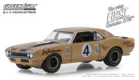 Chevrolet  - Camaro Z-28 1967 beige - 1:64 - GreenLight - 30001 - gl30001 | Tom's Modelauto's