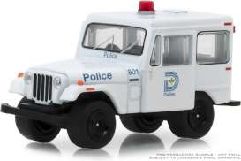 Jeep  - DJ5 1977 white/blue - 1:64 - GreenLight - 42860B - gl42860B | Tom's Modelauto's