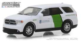 Dodge  - Durango 2018 white/green - 1:64 - GreenLight - 29994 - gl29994 | Tom's Modelauto's
