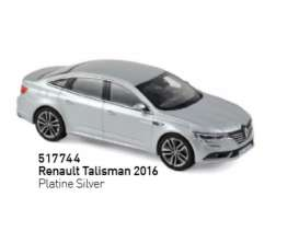 Renault  - Talisman 2016 silver - 1:43 - Norev - 517744 - nor517744 | Tom's Modelauto's