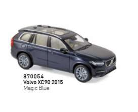 Volvo  - XC90 2016 blue - 1:43 - Norev - 870054 - nor870054 | Tom's Modelauto's