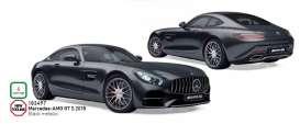 Mercedes Benz  - AMG GTS 2018 black - 1:18 - Norev - 183497 - nor183497 | Tom's Modelauto's