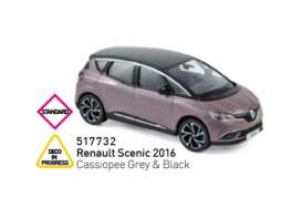 Renault  - Scenic 2015 grey/black - 1:43 - Norev - 517732 - nor517732 | Tom's Modelauto's