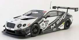 Bentley  - GT3 M Sport 2014  - 1:43 - Almost Real - 430310 - ALM430310 | Toms Modelautos