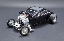 Ford  - Blown Altered Coupe 1934 black - 1:18 - GMP - 18900 - gmp18900 | Tom's Modelauto's