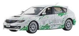 Subaru  - Impreza WRX STI *Tein* 2006 white/green - 1:43 - J Collection - 29006TE - jc29006TE | Tom's Modelauto's