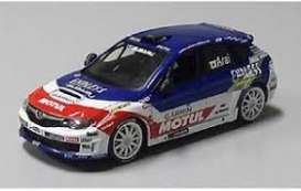 Subaru  - Impreza WRX STI R4  2014 blue/white/red - 1:43 - J Collection - 29020RL - jc29020RL | Tom's Modelauto's