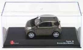 Toyota  - iQ 2009 bronz mica - 1:43 - J Collection - 60004BM - jc60004BM | Tom's Modelauto's