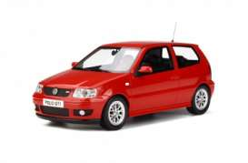 Volkswagen  - Polo GTi 2001 red - 1:18 - OttOmobile Miniatures - 270 - otto270 | Tom's Modelauto's