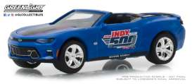 Chevrolet  - Camaro 2018 blue - 1:64 - GreenLight - 30004 - gl30004 | Tom's Modelauto's