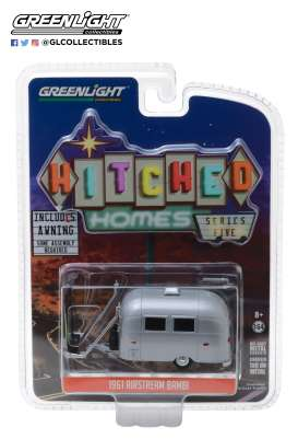 Airstream  - Bambi 1961 silver - 1:64 - GreenLight - 34050F - gl34050F | Tom's Modelauto's