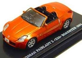 Nissan  - Fairlady Z 2003 orange - 1:64 - Kyosho - 6006P - kyo6006P | Tom's Modelauto's
