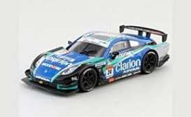 Nissan  - Clarion Z 2007 black/blue/green - 1:64 - Kyosho - 6581H - kyo6581H | Tom's Modelauto's