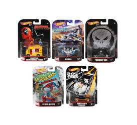 Assortment/ Mix  - various - 1:64 - Hotwheels - DMC55 956H - hwmvDMC55-956H | Toms Modelautos