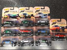 Assortment/ Mix  - various - 1:64 - Hotwheels - DMC55 956J - hwmvDMC55-956J | Tom's Modelauto's