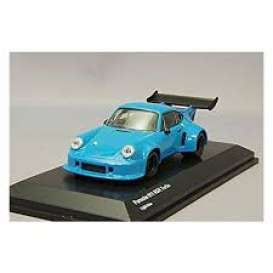Porsche  - 911 light blue - 1:64 - Kyosho - 7048A2 - kyo7048A2 | Tom's Modelauto's