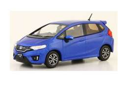 Honda  - FIT blue - 1:43 - J Collection - jc86001BL | Tom's Modelauto's