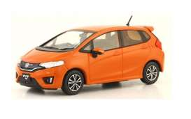 Honda  - FIT orange - 1:43 - J Collection - jc86001OR | Toms Modelautos