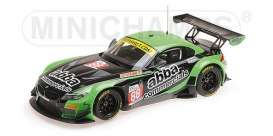 BMW  - Z4 GT3 2016 black/green - 1:18 - Minichamps - 151162388 - mc151162388 | Tom's Modelauto's