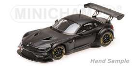 BMW  - Z4 GT3 black - 1:43 - Minichamps - 437172500 - mc437172500 | Tom's Modelauto's
