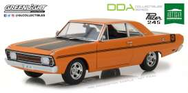 Chrysler  - Valiant VG 1970 hemi orange/black - 1:18 - GreenLight - 18007 - gl18011 | Tom's Modelauto's