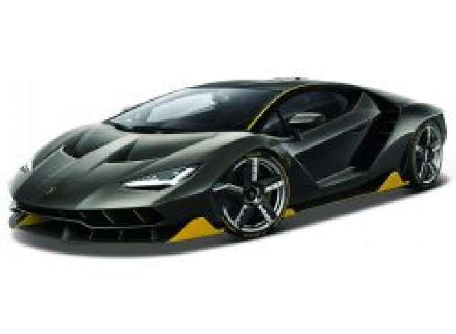 Lamborghini Centenario Black Yellow 1 14 Maisto Mai82121