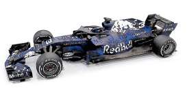 Red Bull Racing  Aston Martin - RB14 2018 blue/white - 1:18 - Minichamps - 110180993 - mc110180993 | Tom's Modelauto's