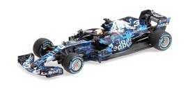 Red Bull Racing  Aston Martin - RB14 2018 blue/white - 1:43 - Minichamps - 410180993 - mc410180993 | Toms Modelautos