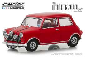 Austin  - Mini Cooper S 1967 red/black straps - 1:43 - GreenLight - 86550 - gl86550 | Tom's Modelauto's
