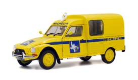 Citroen  - Acadiane  1984 yellow - 1:18 - Solido - 1800406 - soli1800406 | Tom's Modelauto's