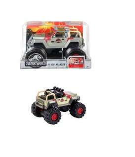 Jeep  - Jurassic World 2 1993 grey/red - 1:24 - Matchbox - FMW90-965B - MatFMY48 | Tom's Modelauto's
