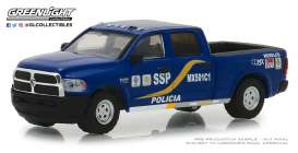 Ram  - 2500 2017 blue - 1:64 - GreenLight - 42870F - gl42870F | Tom's Modelauto's