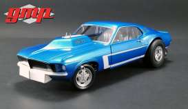 Mustang  - Gasser *the Boss* 1969 blue - 1:18 - GMP - GMP18913 - gmp18913 | Tom's Modelauto's