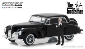 Lincoln  - Continental  1941 black - 1:43 - GreenLight - 86552 - gl86552 | Tom's Modelauto's