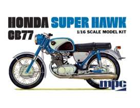 Honda  - Super Hawk  - 1:16 - MPC - 898 - mpc898 | Tom's Modelauto's