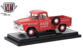 Chevrolet  - Apache 1958 red/white - 1:24 - M2 Machines - 50300RW01 - M2-50300RW01 | Tom's Modelauto's