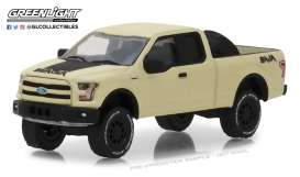Ford  - F-150 2016 creme - 1:64 - GreenLight - 35110E - gl35110E | Tom's Modelauto's