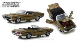 Dodge  - Challenger 1970 gold poly - 1:18 - GreenLight - 13527 - gl13527 | Tom's Modelauto's