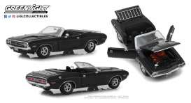 Dodge  - Challenger 1971 grey - 1:18 - GreenLight - 13528 - gl13528 | Tom's Modelauto's