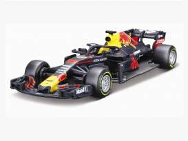 Red Bull Racing   - 2018 blue/red/yellow - 1:43 - Bburago - bura2018 | Tom's Modelauto's