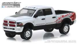 Ram  - 2500 2016 white - 1:64 - GreenLight - 29982 - gl29982 | Toms Modelautos