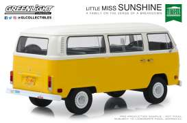 Volkswagen  - T2 Bus *Little Miss Sunshine* 1978 yellow/white - 1:18 - GreenLight - 19051 - gl19051 | Tom's Modelauto's