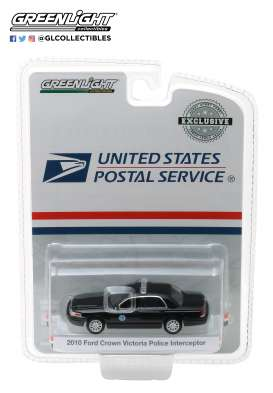Ford  - Crown Victoria 2010 black - 1:64 - GreenLight - 29971 - gl29971 | Tom's Modelauto's