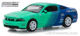 Ford  - Mustang 2013 blue/green - 1:64 - GreenLight - 29972 - gl29972 | Tom's Modelauto's