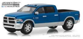 Ram  - 2500 Big Horn 2018 blue - 1:64 - GreenLight - 29973 - gl29973 | Tom's Modelauto's