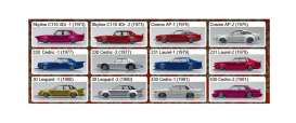 Assortment/ Mix  - various - 1:64 - Aoshima - 105542 - abk105542 | Tom's Modelauto's