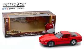 Chevrolet  - Corvette C4 *the Big Lebowski* 1985 red - 1:18 - GreenLight - 13533 - gl13533 | Tom's Modelauto's
