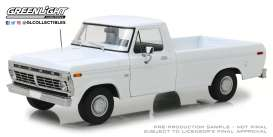 Ford  - F-100 pick-up 1973 white - 1:18 - GreenLight - 13536 - gl13536 | Tom's Modelauto's